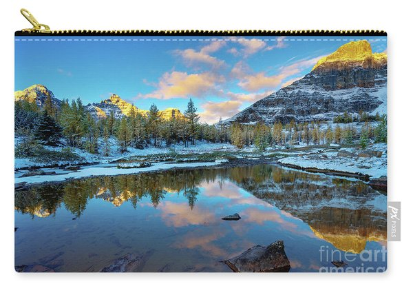 Larch Valley Cloudscape Sunrise Carry-all Pouch