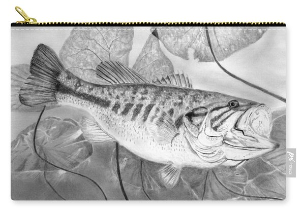Large Mouthed Bass Carry-all Pouch