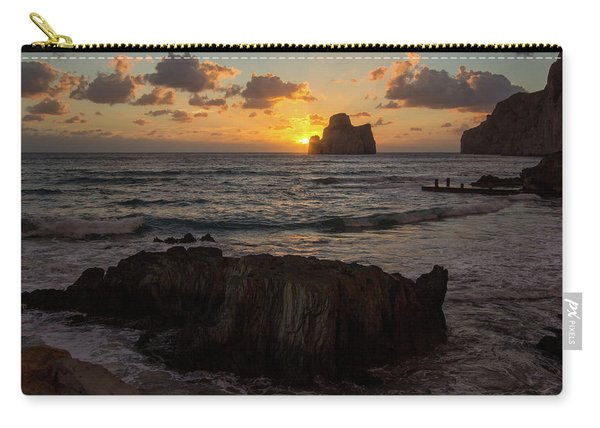 Large Rock Against The Light Carry-all Pouch