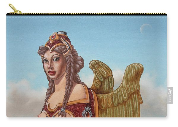 Large Sphinx Of The Vienna Belvedere Carry-all Pouch