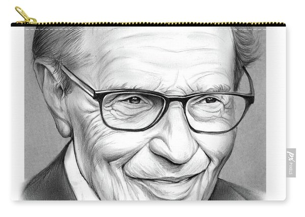 Larry King Carry-all Pouch