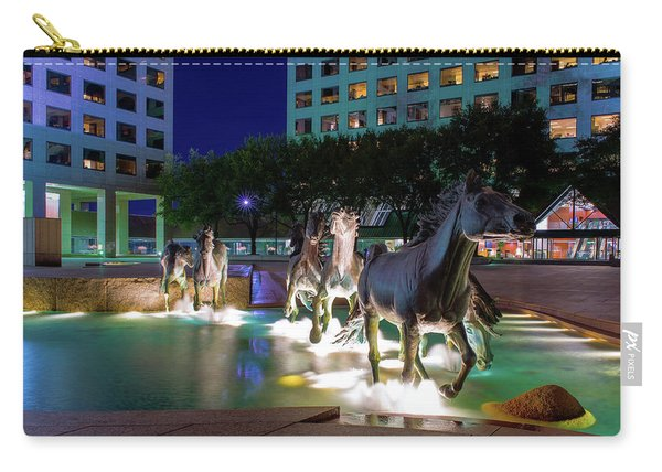 Las Colinas Mustangs 72016 Carry-all Pouch