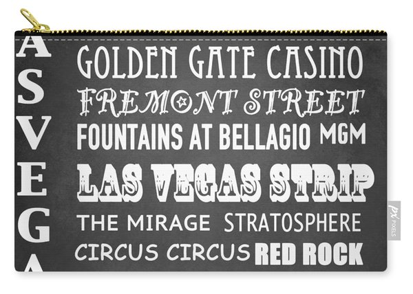 Las Vegas Famous Landmarks Carry-all Pouch