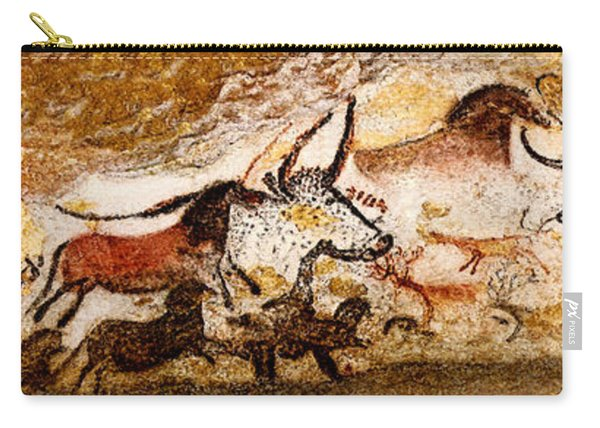 Lascaux Hall Of The Bulls Carry-all Pouch