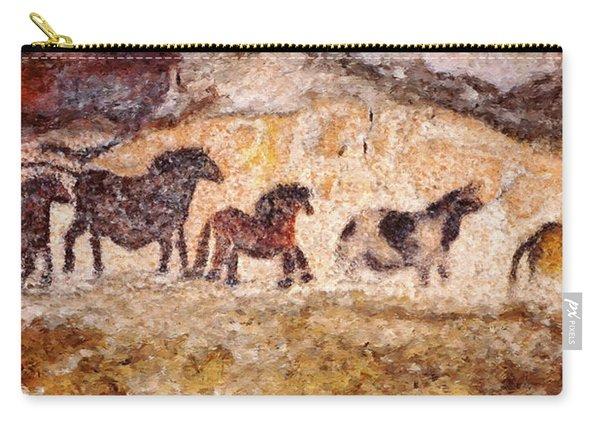 Lascaux Horses Carry-all Pouch