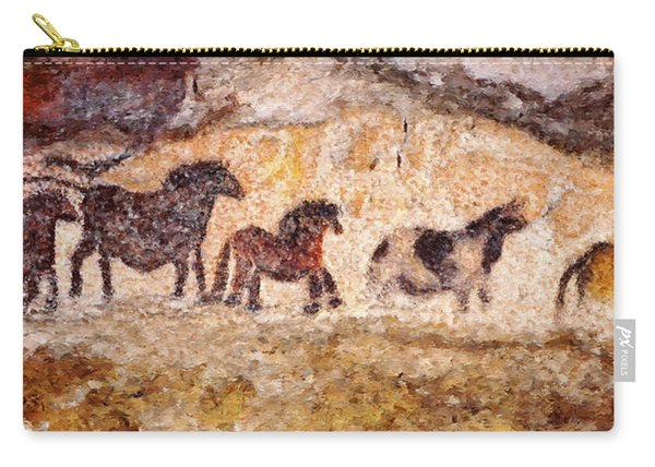 Lascaux Horses Carry-all Pouch