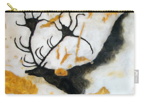 Lascaux Megaceros Deer 2 Carry-all Pouch