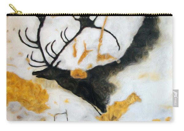 Lascaux Megaceros Deer Carry-all Pouch
