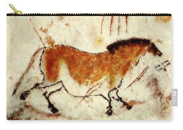 Lascaux Prehistoric Horse Carry-all Pouch