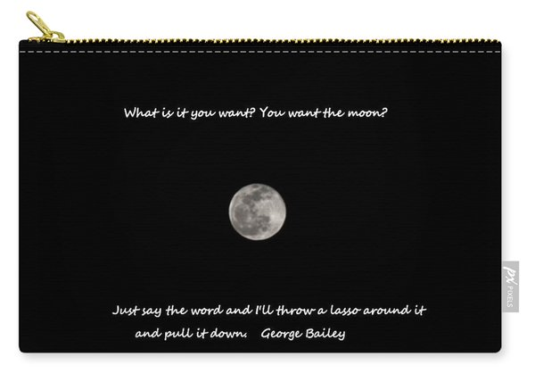 Lasso The Moon Carry-all Pouch
