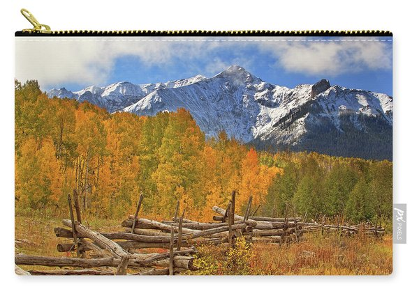 Last Dollar Road - Telluride - Colorado Carry-all Pouch