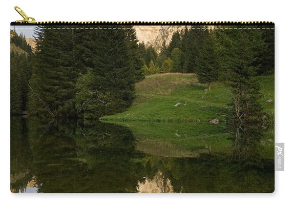 Last Light At Lac De Fontaine Carry-all Pouch
