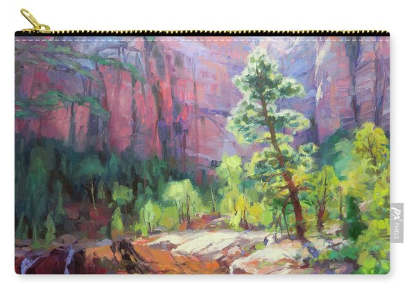 Last Light In Zion Carry-all Pouch