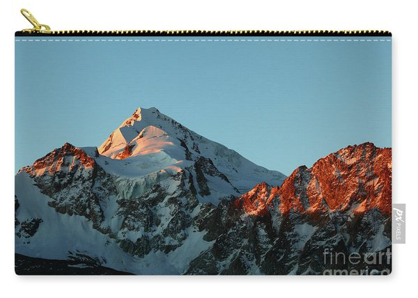Last Light On Mt Huayna Potosi Carry-all Pouch