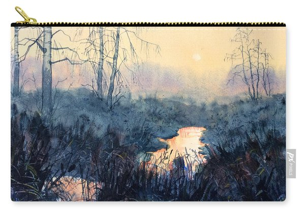 Last Light On Skipwith Marshes Carry-all Pouch