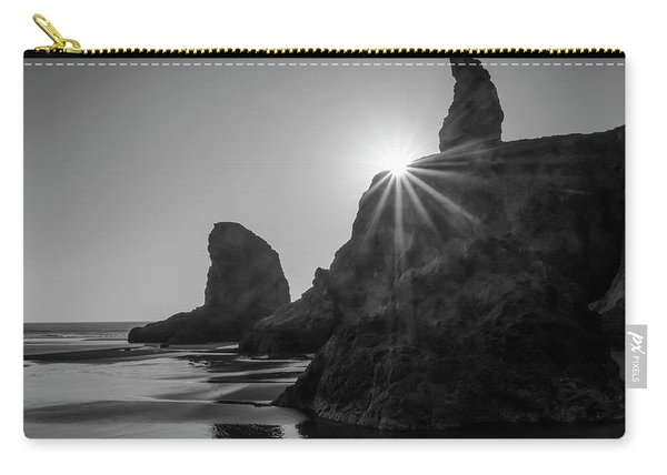 Last Light On The Coast Carry-all Pouch