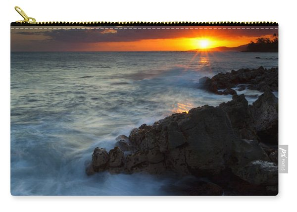 Last Light Over Paradise Carry-all Pouch
