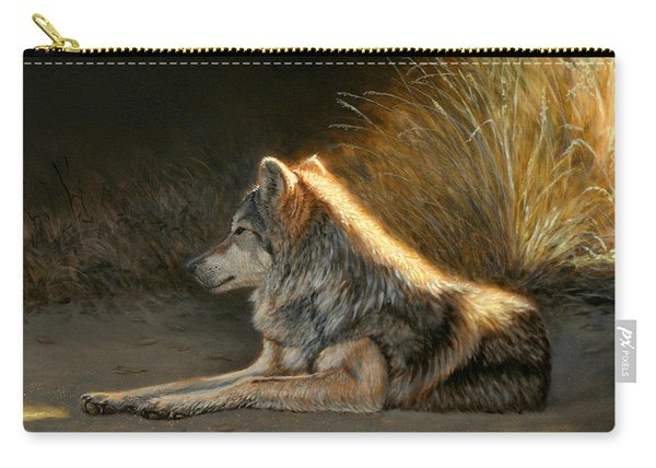 Last Light - Wolf Carry-all Pouch