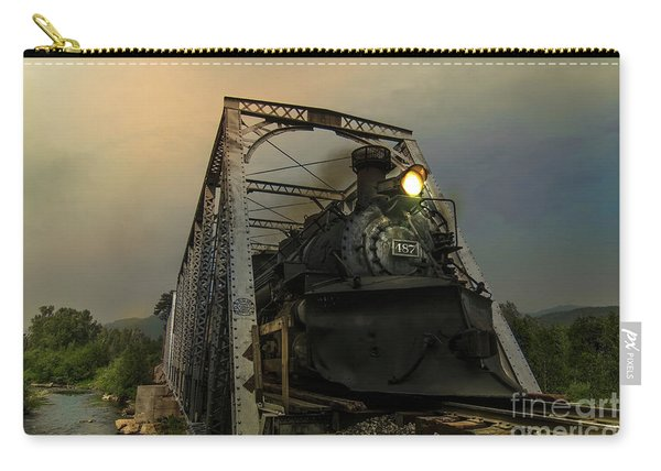 Last Train Into Chama Carry-all Pouch