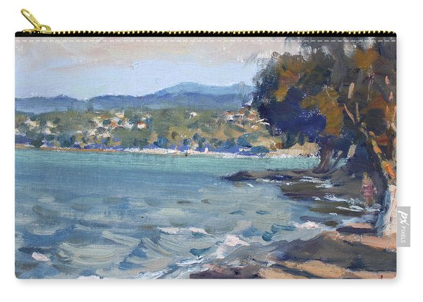 Late Afternoon At Dilesi Beach Athens Carry-all Pouch