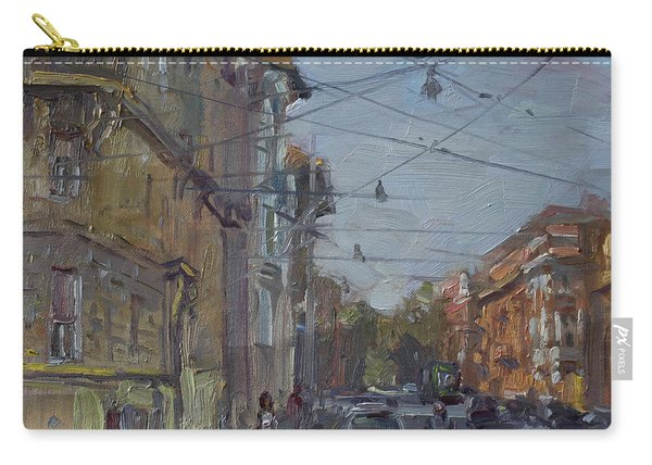 Late Afternoon Light - Regina Margherita -rome Carry-all Pouch