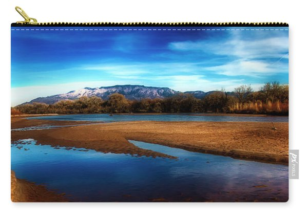 Late Afternoon On The Rio Grande Carry-all Pouch