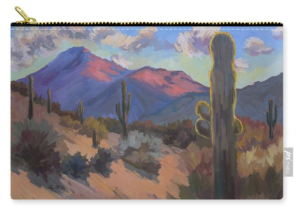 Late Afternoon Tucson 2 Carry-all Pouch