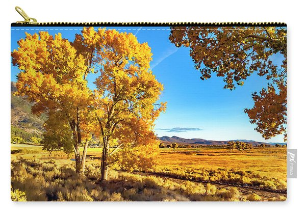 Late Autumn In The Carson Valley Carry-all Pouch