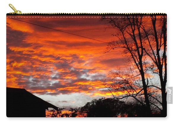 Late Autumn Sunset Carry-all Pouch