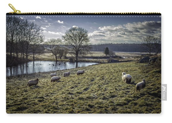 Late Fall Pastoral Carry-all Pouch