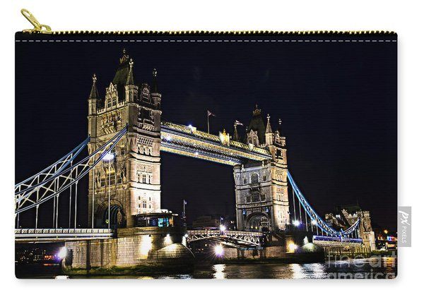 Late Night Tower Bridge Carry-all Pouch