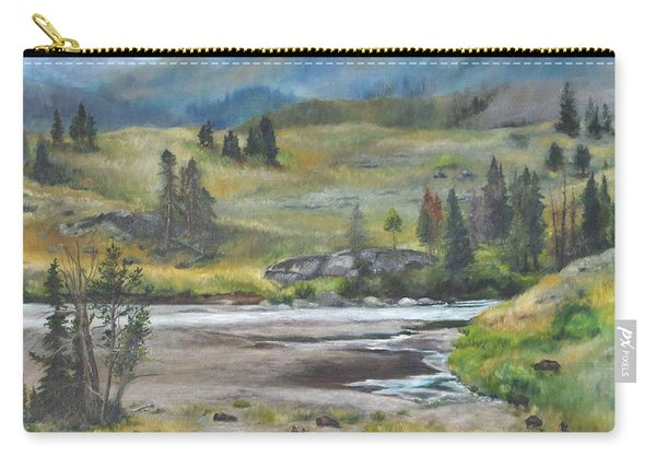 Late Summer In Yellowstone Carry-all Pouch