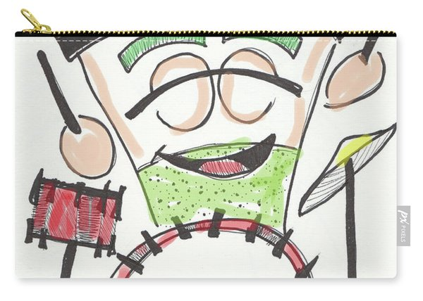 Latte Drummer Carry-all Pouch