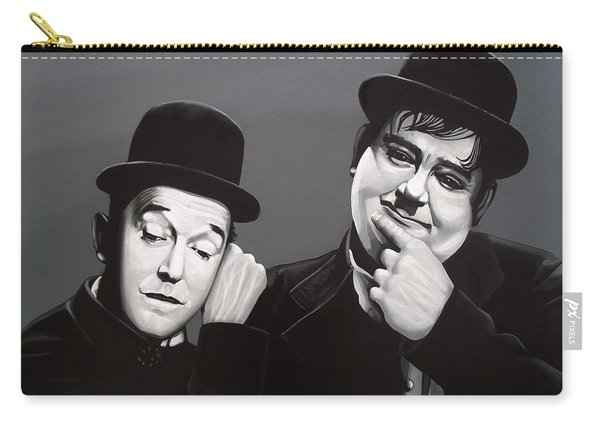 Laurel And Hardy Carry-all Pouch