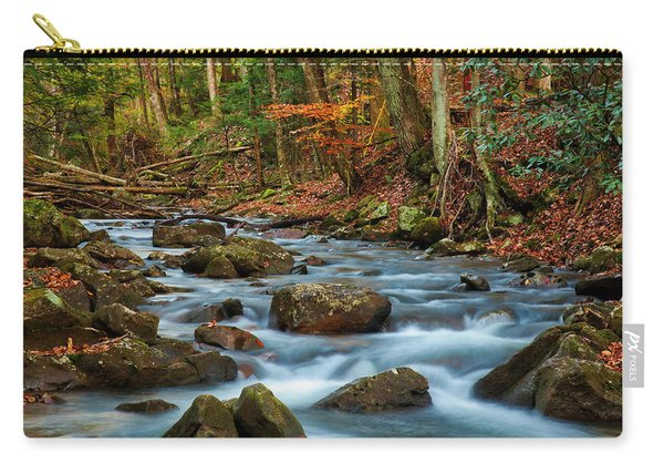 Laurel Fork In The Fall Carry-all Pouch
