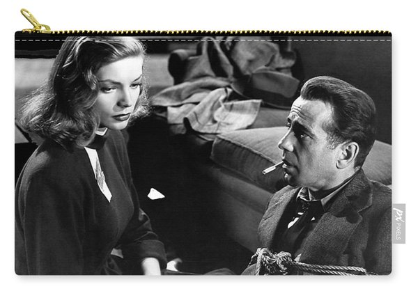 Lauren Bacall Humphrey Bogart Film Noir Classic The Big Sleep 1 1945-2015 Carry-all Pouch