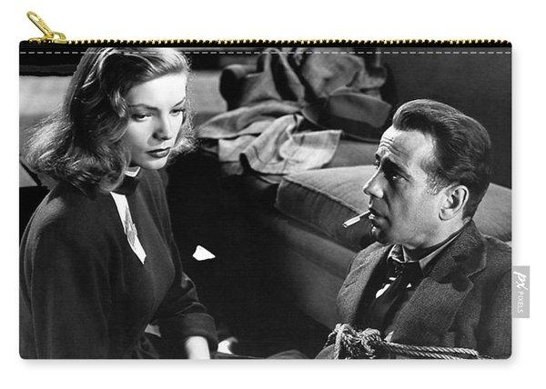 Lauren Bacall Humphrey Bogart Film Noir Classic The Big Sleep 1 1945-2015 Carry-all Pouch