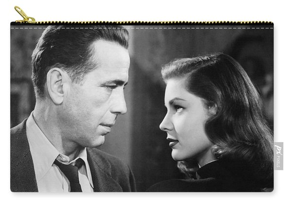 Lauren Bacall Humphrey Bogart Film Noir Classic The Big Sleep 2 1945-2015 Carry-all Pouch