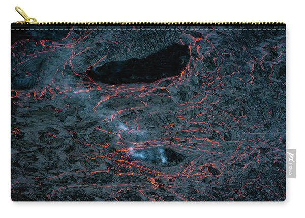 Lava Cracks Carry-all Pouch