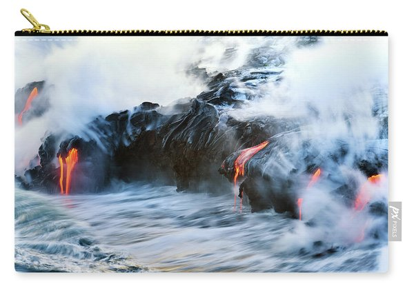Lava Flow Carry-all Pouch
