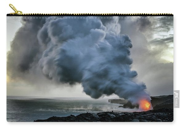 Lava Ocean Entry Carry-all Pouch