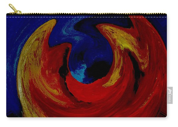 Lava Ocean Carry-all Pouch