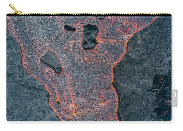 Lava River Texture Carry-all Pouch