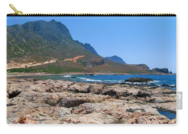 Lava Rocks Of Balos Carry-all Pouch