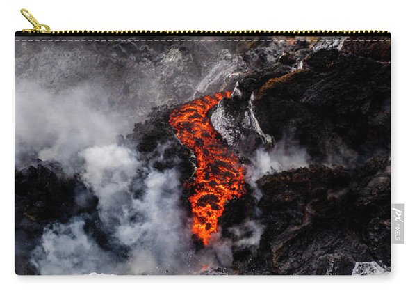 Lava Snake Carry-all Pouch