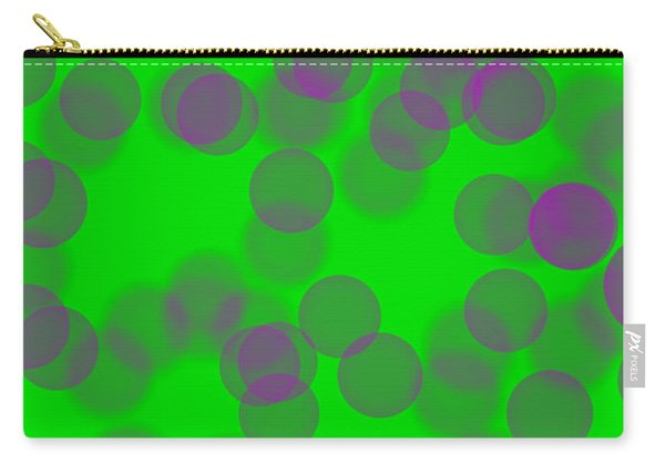 Lavender Bokeh Carry-all Pouch