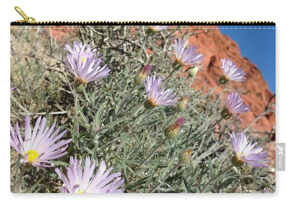 Lavender Drops Carry-all Pouch
