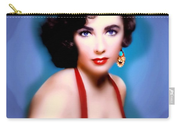 Lavender Eyes Carry-all Pouch