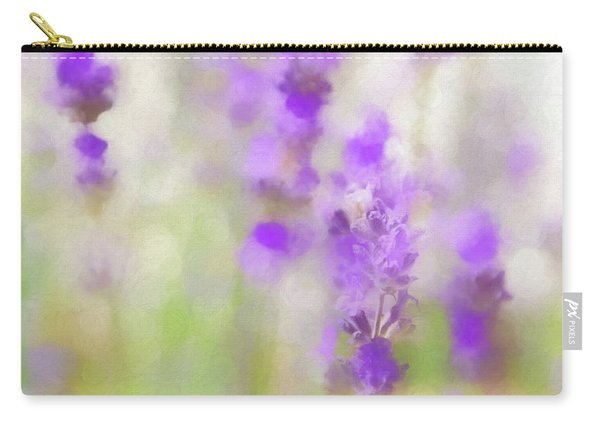 Lavender Fields Forever Carry-all Pouch