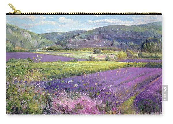 Lavender Fields In Old Provence Carry-all Pouch